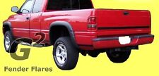 FITS DODGE RAM 1994-2001 G2 BLACK FENDER FLARES 4PCS