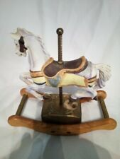 Tobin Fraley Musical Rocking Horse American Carousel Limited Edition