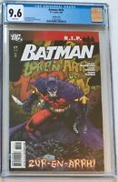 Batman #679 Tony Daniel HTF Variant Cover CGC 9.6 DC 2008