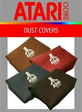 Atari 2600 VCS (four switch) system canvas dust covers