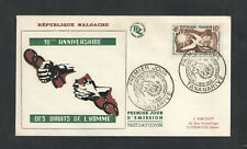1958 Malagasy Republic Scott # 300 Fdc First Day Cover w/ Cachet