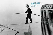 Philippe Petit autograph World Trade Towers Wire Walker Very RARE COA LOOK!