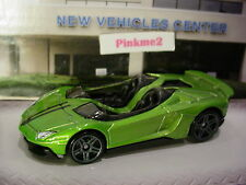 2017 HW EXOTICS Design LAMBORGHINI AVENTADOR J☆green;gray pr5☆LOOSE Hot Wheels