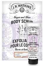 JR WATKINS Sugar & Shea Body Scrub - Lavender Scent - 100% Natural