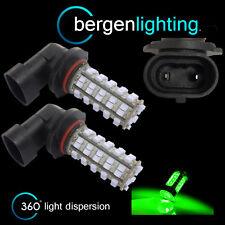 2X HB4 9006 VERDE 60 LED ANTERIORE LAMPADINE PER FARI FENDINEBBIA SUPPLEMENTARI