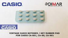 VINTAGE CASIO BOTONES / KEY RUBBER PAD FOR CASIO CA-851, CA-90, CA-901