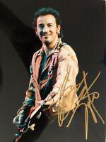 SIGNIERT!  Bruce Springsteen Farbfoto 25,5x20,5cm  SIGNED!