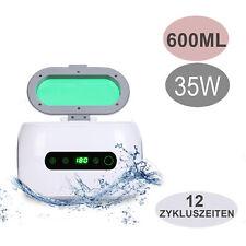 Ultraschallreiniger Digital Reinigungsgerät 600ml Timer Brillen Schmuck Reiniger