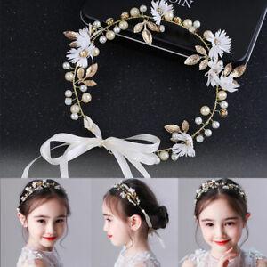 Women Girl Flower crown Garland Wedding Hair Headband Wreath Party Beach wedding