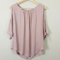 FOREVER NEW | Womens Simona Cold Shoulder Blouse Top [ Size AU 8 or US 4 ]