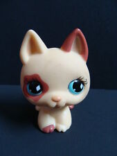 Littlest PET SHOP German Shepherd 744 Dog Tan Puppy Blue Diamond Eyes LPS Fast