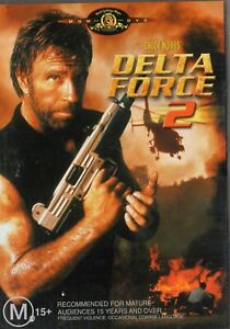 DELTA FORCE 2 - Chuck Norris Billy Drago - DVD - N&S - Never played - R 4 - PAL