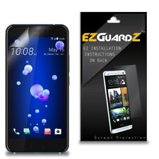 2X EZguardz Clear Screen Protector Shield HD 2X For HTC U11