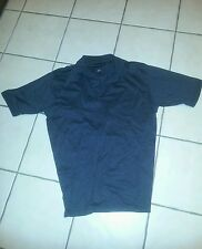 "Men's Short Sleeve Polo--CROFT & BARROW ""; ""L; real  nice shirt;Dark Gray"