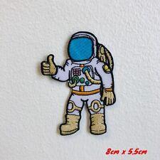 Espace Voyage Astronaute Pouces Up Brodé Repasser Patch à Coudre #1829
