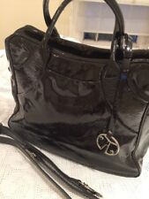 COCCINELLE LEATHER Patent BAG NEW