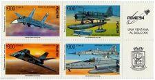 Chile 1994 #1666-69 FIDAE´94 Feria Internacional del Aire y del Espacio MNH