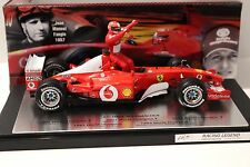 1:18 HOT WHEELS FERRARI f2002 f1 5 Time World Champion NEW in Premium-MODELCARS