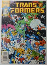 1988 vintage Marvel Comics Forum TRANSFORMERS #37 comic book Spain GRIMLOCK Rom