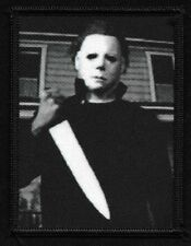 Michael Myers HALLOWEEN Cult Classic Horror Film Monster Movie Collectors Patch