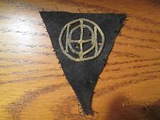 WWI US Army 83rd Division patch wool