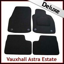 VAUXHALL ASTRA H Estate 2004-2010 Tailored LUXURY 1300g Carpet Car Mats BLACK