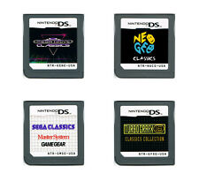 Genesis Master System Game Gear Neo Geo Turbografx 16 Nintendo Ds 3Ds multicart
