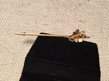 Antique Victorian 15ct Yellow Gold Bee Bug Pin