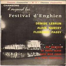 "FLORENCE PASSY / DENISE LEBRUN ""PETIT GONZALES"" TWIST 60'S EP PBM CAN 3"