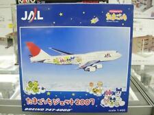 Tamagotchi Jet 2007 1:400 JAL BOEING 747-400D Herpa Japan NEW rare