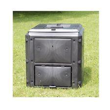 BioQuick Komposter KHW 420 Liter Abfallbehälter Schnellkomposter NEU