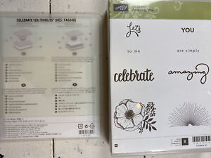 Stampin' Up! AMAZING YOU stamp set & CELEBRATE YOU Thinlits dies LOVE