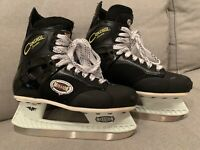 Mission Control Series Ice Hockey Skates Men's Size 8 D. Designed in USA CLEAN