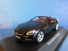 MERCEDES BENZ SLK CLASS R172 BLACK 2012 SCHUCO 07451 1/43 CONVERTIBLE SCHWARZ