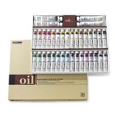 Oil Colour Paint Set Shinhan Professional 36 Colours 20ml Tube Artist Drawing