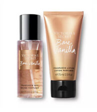 Victoria's Secret Bare Vanilla Mini Body Mist & Lotion 2pc Gift Set - New in Box