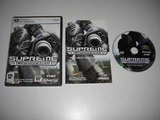 SUPREME COMMANDER 1 Pc Cd Rom Original Version RTS FAST POST