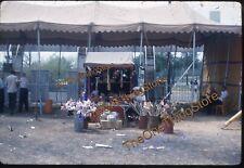 James Strates Carnival Souvenir Stand 1960s 35mm Slide Kodachrome Tent