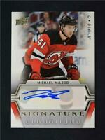 2019-20 Upper Deck Series 1 Signature Sensations Auto# SS-MI Michael McLeod