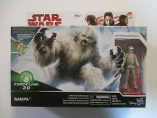 Star Wars WAMPA Force Link 2.0 with Luke Skywalker (Hoth) - Sealed - Brand New !