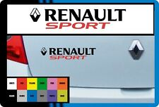 "FOR RENAULT - ""RENAULT SPORT"" - VINYL CAR DECAL STICKER  - CLIO   - 195 x 42mm"