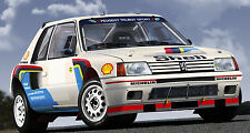 Peugeot 205 Turbo 16 - Full Size Decal Kit