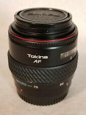 Tokina AF 28-70 1:3.5-4.5 52 Japan 902229-4 - Macro - 70   50   35   28    Lens