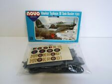 NOVO HAWKER TYPHOON 1B TANK BUSTER PLANE KIT 1:72 SCALE COMPLETE BOXED (K450)