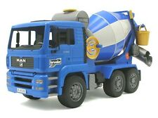 Bruder Toys 02744 MAN TGA Cement Mixer Lorry Toy Model 1:16 Massive 46cm 18inch