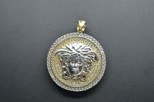 9ct Gold Medusa Head Pendant