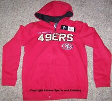 Brand New - San Francisco 49ers NFL Label Pullover Hoodie Jacket Coat - Youth L