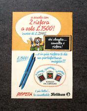 K833-Advertising Pubblicità-1984- RISFERA PELIKAN