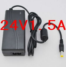 AC Converter Adapter DC 24V 1.5A 1500mA 36W Power Supply Charger DC 5.5mm New
