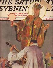 1932 Saturday Evening Post cover February 6 Oriental Ball Room Dancing-Sheridan